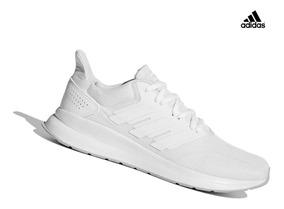 Zapatilla adidas Runfalcon Para Hombre - Blanco