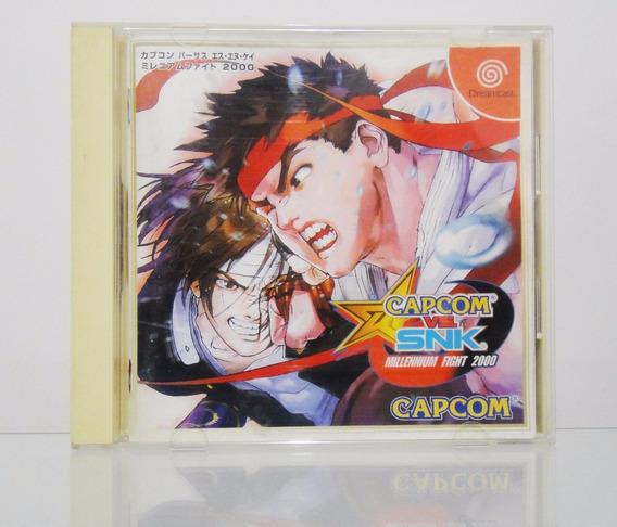 Capcom Vs Snk Dreamcast Original Japonês