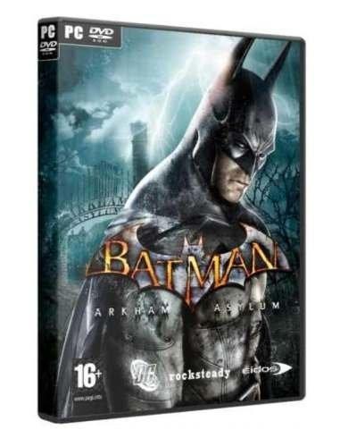 Batman:arkham Asylum Goty Steam Key Código 15 Dígitos Oferta