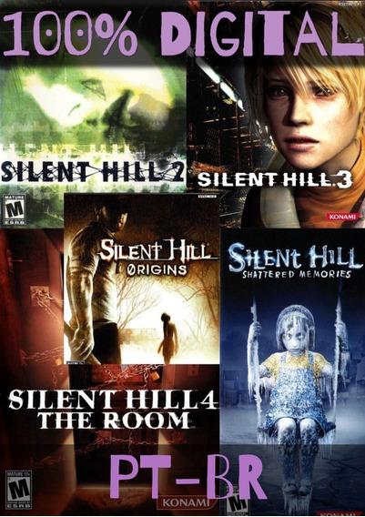 Baixe E Jogue - Coleção Silent Hill De Ps2 Para Pc