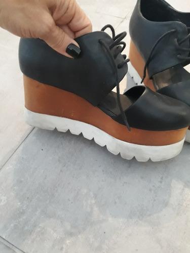 Zapatos Plataforma Acordonados Jeffrey Campbell No Sarkany