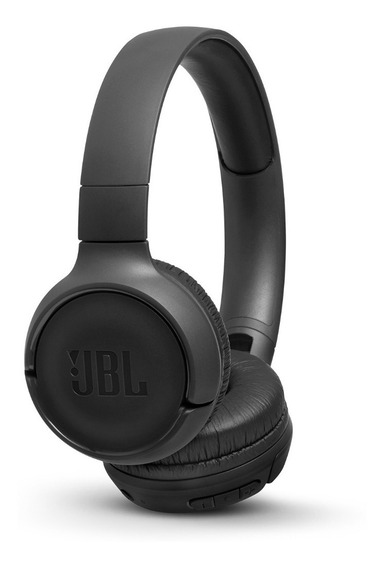 Fone Sem Fio Jbl T500bt - Preto - Bluetooth - Com Até 16 Horas De Reprodução - Original - C/ Nf E Garantia No Brasil