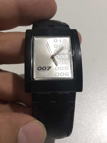 Swatch 007 Die Another Day Raríssimo Couro Reverso