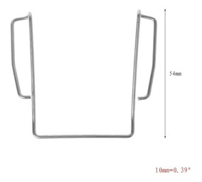 Clip Lapela Bodypack Sennheiser G2, G3. Pronta Entrega