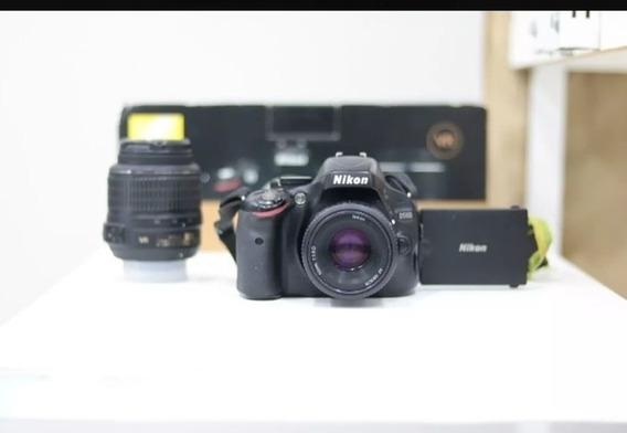 Corpo Camera Nikon D5100 93534 Clicks + Carregador + Bateria
