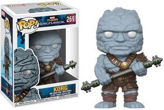 Funko Pop Marvel: Thor Ragnorok Korg Figura Vinilo Coleccion