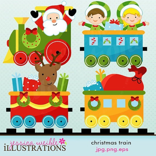 Kit Imprimible Navidad Imagenes Clipart Cod 10
