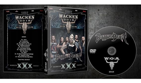 Dvd Battle Beast Wacken 2019