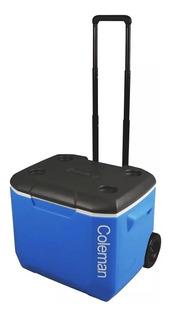Caixa Térmica Coleman Signature 60qt/56,7l Com Rodas - Azul