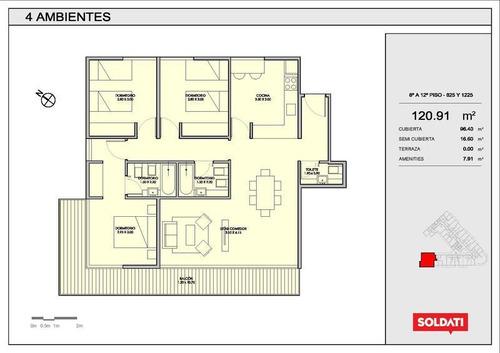 Palmera Crespo.venta.departamento. 4 Ambientes.villa Crespo