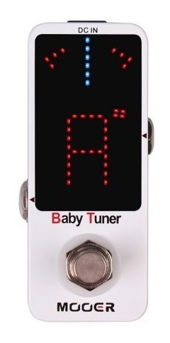 Pedal Afinador Mooer Baby Tuner - Mtu1 + Fonte
