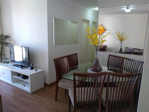 Apartamento Com 3 Dormitórios À Venda, 60 M² Por R$ 340.000 - Jardim Centenário - São Paulo/sp - Ap2843