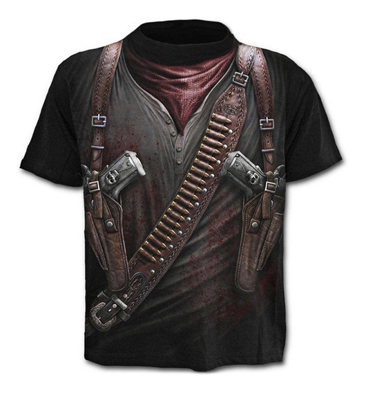 Camiseta De Manga Corta Para Hombre Talla Grande