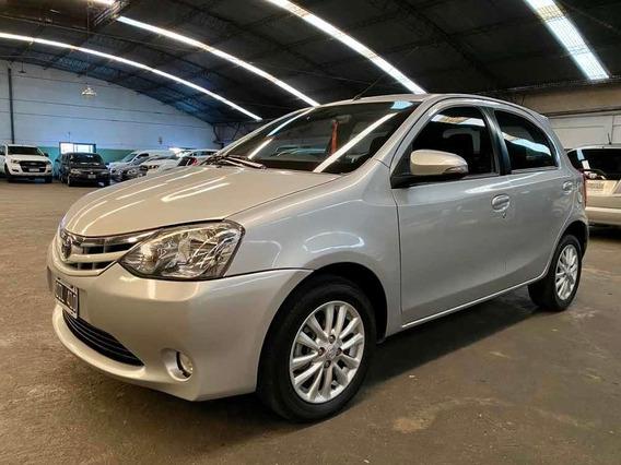 Toyota Etios 1.5 Xls 2014 Financiacion 100% En Cuotas