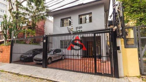 Imagem 1 de 25 de Sobrado Com 4 Dormitórios À Venda, 230 M² Por R$ 3.200.000,00 - Vila Mariana - São Paulo/sp - So5309