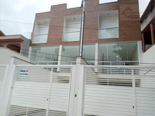 Sobrado Com 3 Dormitórios À Venda, 130 M² Por R$ 590.000,00 - Vila Califórnia - São Paulo/sp - So1194