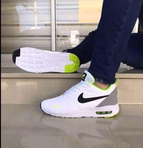 Zapatillas Verde Esmeralda Hombre Nike Tenis Nike Blanco