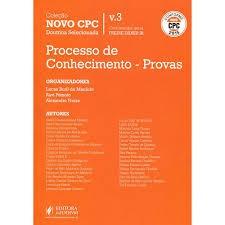 Processo De Conhecimento - Provas Conforme Novo Cpc