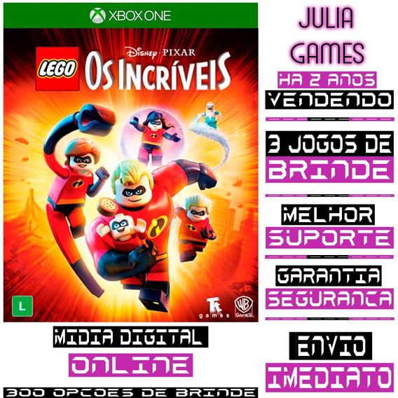 Lego Os Incriveis Xbox One Digital Online + Brinde
