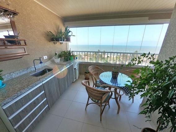 Apartamento Frente Mar Com 03 Dorm E 92m² No Indaiá - Caraguatatuba - Sp - Ap0143
