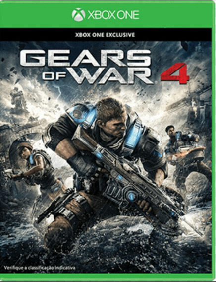 Gears Of War 4 Xbox One Midia Digital