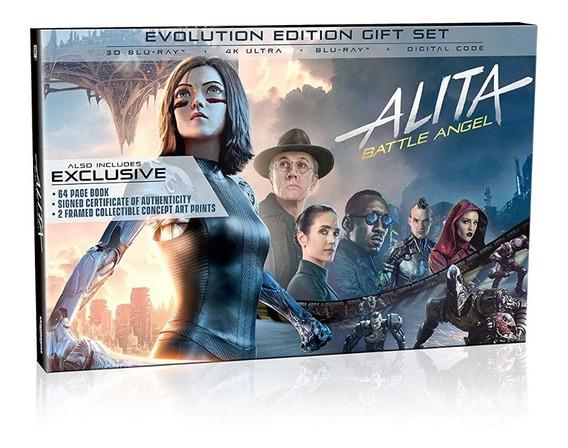 Alita Battle Angel Edition Collectors Gifset 4k Ultra Hd
