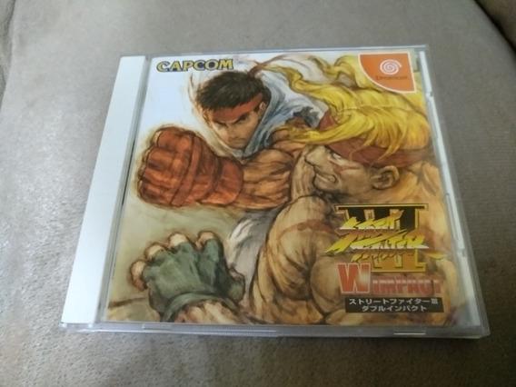 Street Fighter 3 Double Impact Original Jp Sega Dreamcast.