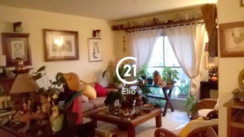 Apartamento Com 3 Dormitórios, 145 M² - Venda Por R$ 1.390.000,00 Ou Aluguel Por R$ 5.500,00/mês - Brooklin - São Paulo/sp - Ap8914