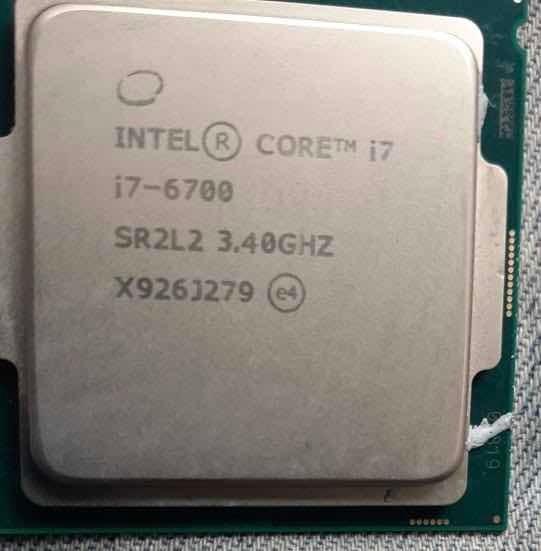 Processador Core I7 6700 3.4ghz