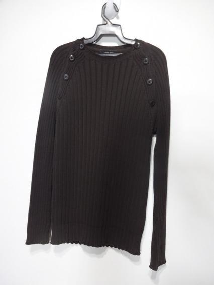 Suéter Zara Man 100 % Algodão Ref887