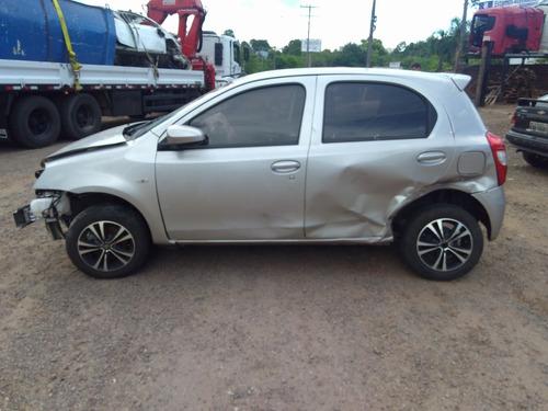 Sucata Toyota Etios 1.3 2017 Venda De Peças