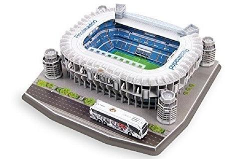 Maqueta Estadio 3d Ya Armada!!! Real Madrid!! Bernabeu!!