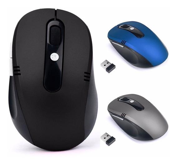Mouse Óptico Sem Fio Usb Wireless 2.4ghz Para Pc E Notebook