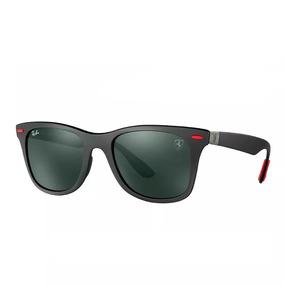 Óculos Ray-ban Rb4195 Wayfarer Liteforce Ferrari Envio 24h
