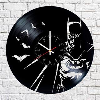 Reloj Vinilo Batman Regalo Original Vintage Retro Comics