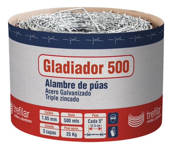 Alambre De Puas Rollo X 500 Mts Trefilar - 12 Cuotas