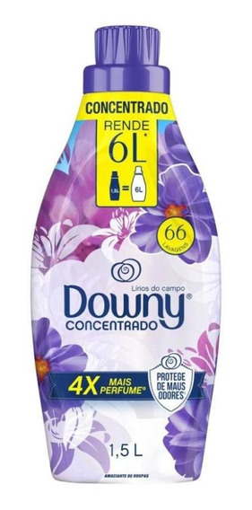 Amaciante Concentrado Downy Lírios Do Campo - 1,5l