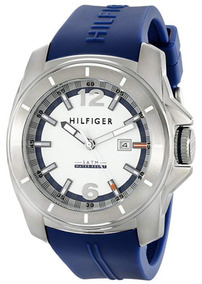 Tommy Hilfiger 1791113 Windsurf Branco Dial Azul