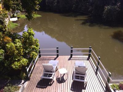 Chalé Camping Quedas Dagua De Frente Para Lago Privativo