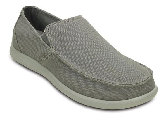 Crocs Santa Cruz Clean Cut Loafer Tipo Nautico