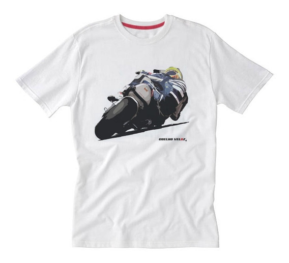 Camiseta Moto Fazer Curva É Arte - Honda / Yamaha / Suzuki