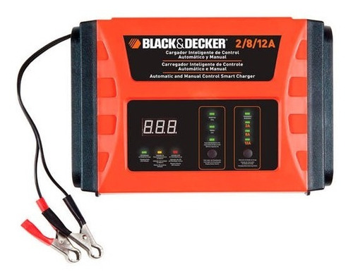 Imagen 1 de 6 de Cargador Bateria Inteligente Black Decker 2/8/12 Amp Bc12