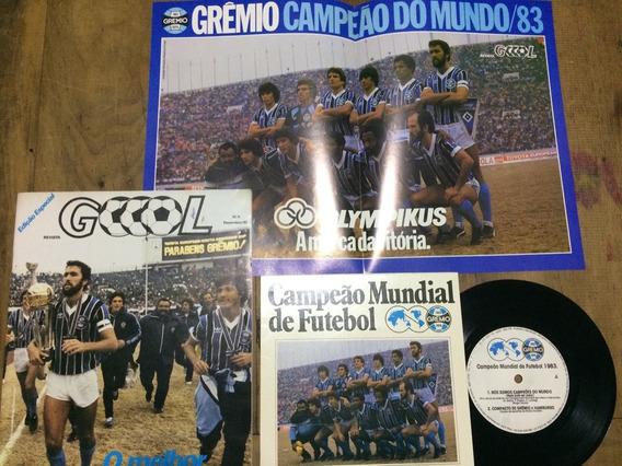 Revista Goool Número 5 Dezembro 1983 Grêmio Campeão Do Mundo