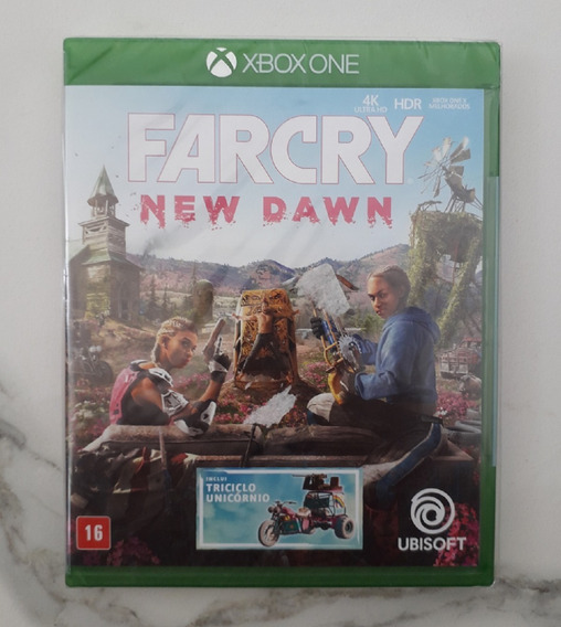 Far Cry New Dawn Xbox One Mídia Física - Dublado Português