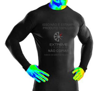 Camiseta Térmica Segunda Pele Rash Guard Extreme Top Confort