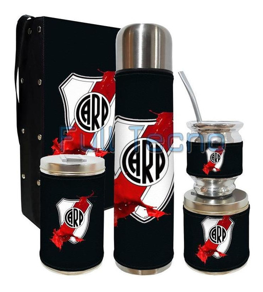 Set Matero 5 Piezas Rigido River Plate 2 Excelente Calidad