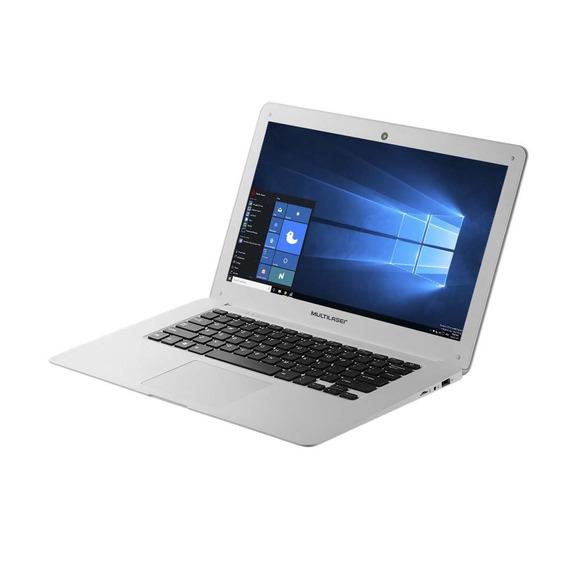 Notebook Multilaser Legacy 14 Pol 2gb 32+32sd Branco Pc110