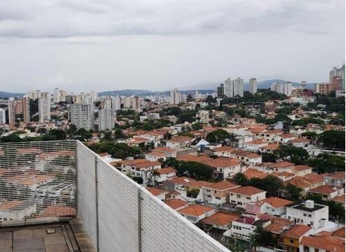 Imagem 1 de 18 de Cobertura Com 2 Dormitórios À Venda, 160 M² Por R$ 2.500.000,00 - Vila Madalena - São Paulo/sp - Co0073