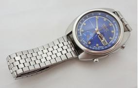 Relógio Seiko Cronógrafo Automático Anos 70 Calibre 6139