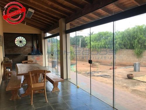 Imagem 1 de 30 de Linda Chácara À Venda Jardim Monte Belo Ii - Campinas Sp - Ch00059 - 69454979